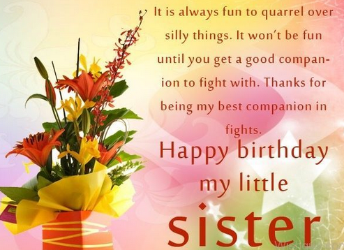 Cool Top 200 Happy Birthday Big Sister Quotes And Images Funny Birthday Cards Online Elaedamsfinfo