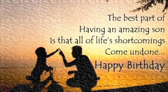 Top 25 Birthday Quotes For Son