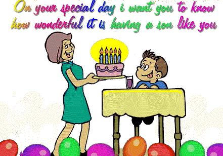Astonishing Top 25 Birthday Quotes For Son Wishes For Son Funny Birthday Cards Online Fluifree Goldxyz