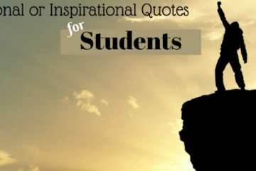 motivational and Inspirational Quotes For Students
