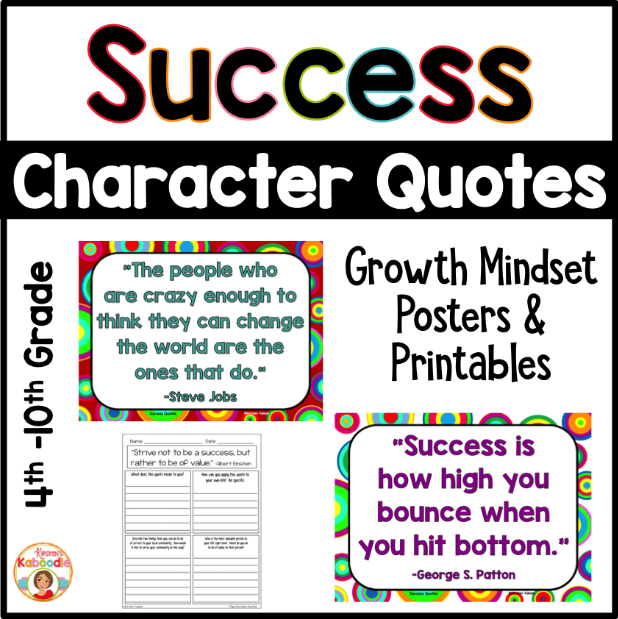 Growth Mindset Quotes Posters 2020