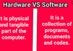 Distinction Between Hardware And Software Program