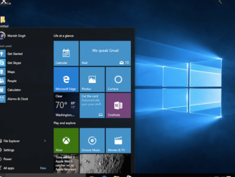 Home Windows 10 Operating