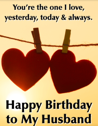 Love Quotes For Husband Birthday
