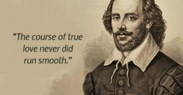 Shakespeare Love Quote