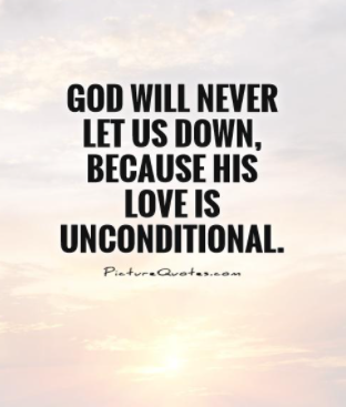 Unconditional Love Of God Quotes
