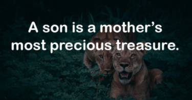 Unconditional Love Son Quotes