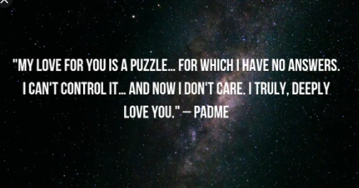 star wars quotes about love