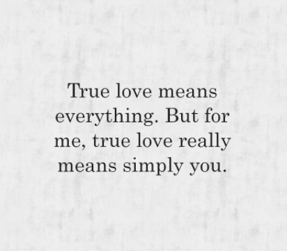 true love meaning quotes